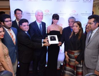 OM Jewellers and Forevermark Diamonds celebrating their association with actress Disha Patani