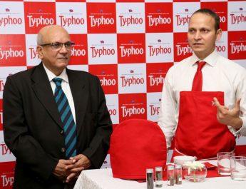 Razi Khan - Tea Expert and Mr Subrata Mukherji at Typhoo Tea Tasting Session