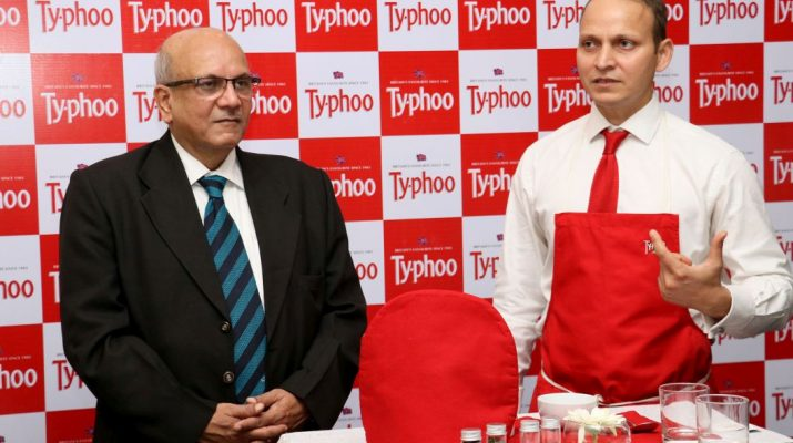 Razi Khan - Tea Expert and Mr Subrata Mukherji at Typhoo Tea Tasting Session