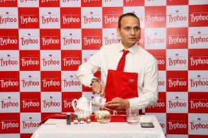 Razi Khan at Typhoo Tea Tasting Session