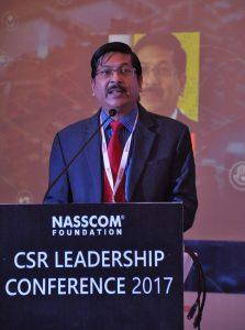 Shrikant Sinha - CEO NASSCOM Foundation - Rise in the Industry CSR spending