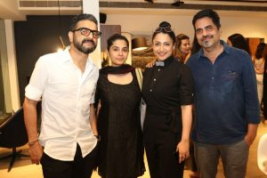 Sunil Padwal - Seema Shetty - Tanuja Padwal - Sudarshan Shetty - BoConcept second Flagship store launch