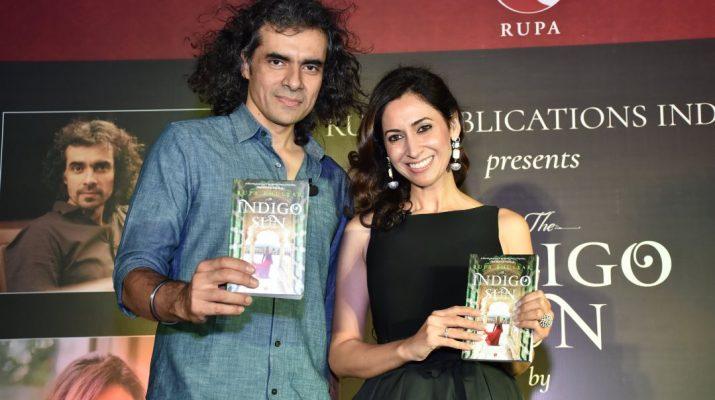 The Indigo Sun is dedicated to Imtiaz Ali - Author Rupa Bhullar - Imtiaz Ali 1