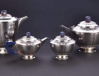 Victorian Tea set by ArgentOr Silver
