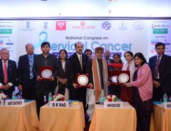 Catch the glimpse of ASSOCHAM National Congress on Cervical Cancer and Awards