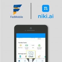 Federal Bank & Niki.ai launch a Chatbot based virtual assistant in FedMobile Banking application
