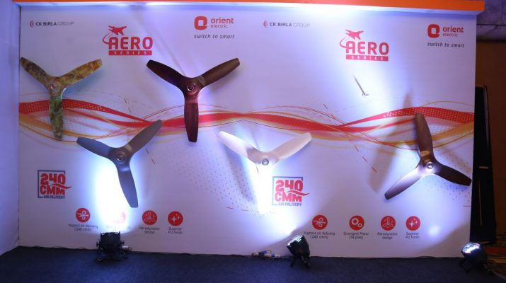 Orient Electric launches new range of AeroStorm premium fans with Aero dunamic technology
