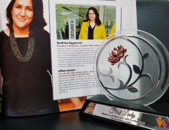 Radhika Aggarwal honoured with the WCD First Ladies Achievement Award