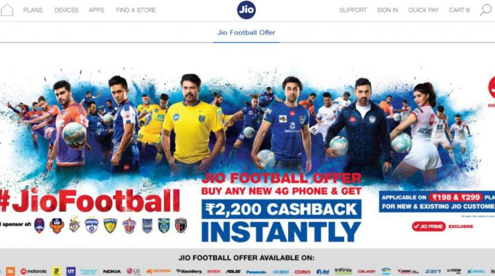 ASUS teams up with Reliance Jio for Jio Football Offer