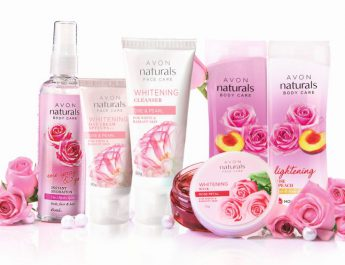 AVON Naturals Rose collection full range - MRP 1454