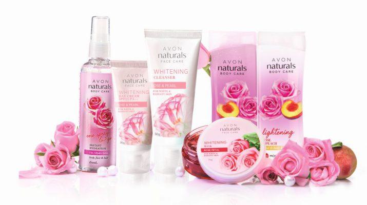 AVON Naturals Rose collection full range - MRP 1454