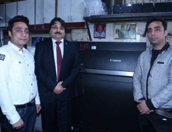 Canon India installs its flagship 100ppm imagePRESS C10000VP at Prism Printers 2