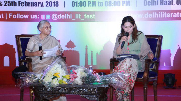 Citizen Delhi - My Times - My Life - Shiela Dikshit at Delhi Literature Festival1