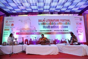 Delhi Literary Festival - Gajal Performance