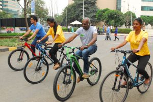Embassy Services organizes Green Rider Mela at Embassy Manyata Business Park - Photo 1