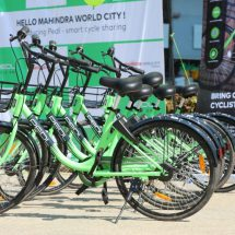 Mahindra World City, Chennai introduces eco-friendly, intra-city bicycle sharing