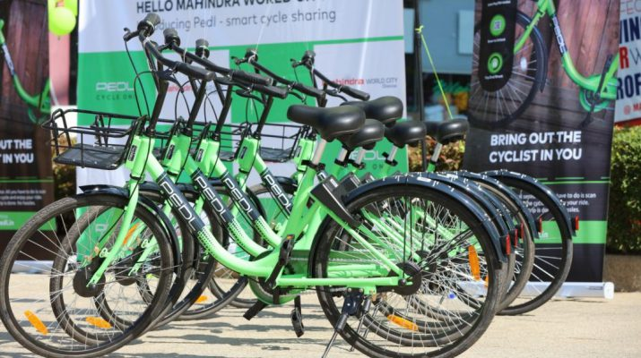 Mahindra World City - Chennai introduces eco-friendly - intra-city bicycle sharing 2