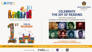 Mount Litera School International brings Bookaroo Childrens Literary Festival to Mumbai