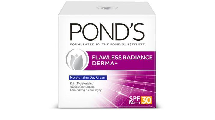 New Ponds Flawless Radiance Derma plus Moisturizing Day Cream SPF 30 PA