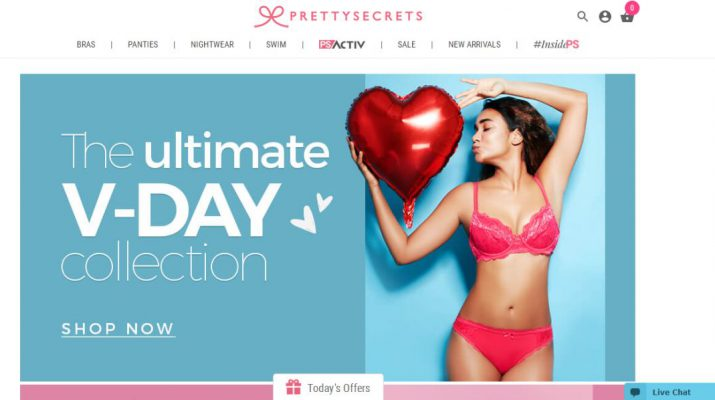 PrettySecrets - Valentines Day Collection - Sale