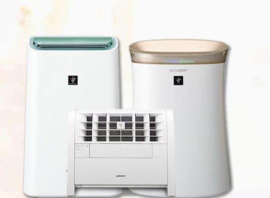 Sharp Air Purifier - Air purifiers will help you stay well during flu season