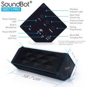 SoundBot launches Surround Sound Bluetooth Speaker SB571PRO 3
