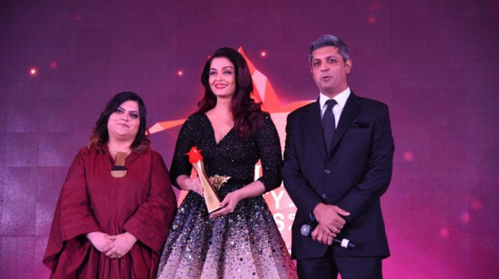 Tanya Chaitanya - Aishwarya Rai Bachchan - Deepak Lamba - The Nykaa Femina Beauty Awards 2018 hosted at Mumbai