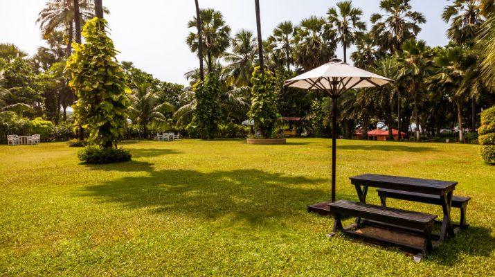The High-Tide restaurant - The Resort - Madh-Marve - Mumbai - Garden