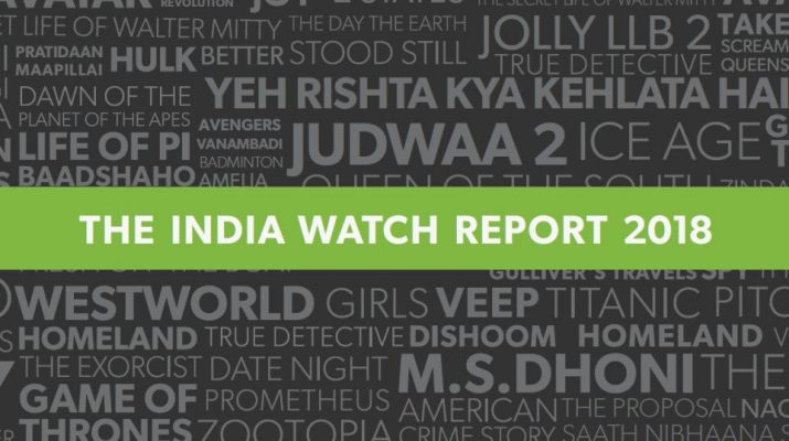 The India Watch Report 2018 - Hotstar