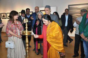 Veteran artist Vinod Sharma showcasing Mindscape by Creativity Art Gallery 3