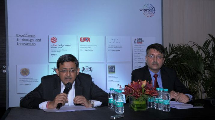 Vineet Agrawal - CEO - Anuj Dhir - VP - Wipro Lighting launches Internet of Lighting