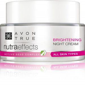 AVON TRUE Nutraeffects Brightening Day and Night Cream - INR 700 each