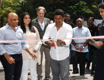 Actor Puneeth Rajkumar inaugurated HMG Stones Gallery at 1 Sankey Road 2