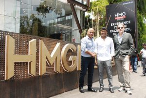 Actor Puneeth Rajkumar inaugurated HMG Stones Gallery at 1 Sankey Road
