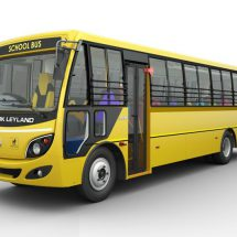 Ashok Leyland's Sunshine Bus will provide complete safety to school children