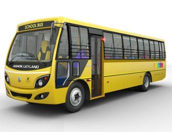 Ashok Leyland - Sunshine Bus will provide complete safety to school children