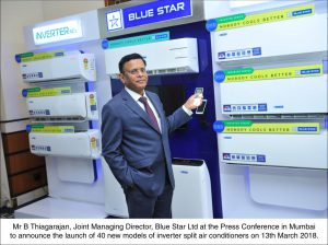 Blue Star launches 40 new models of highly energy-efficient inverter split air conditioners
