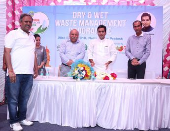 Dettol Banega Swachh India Campaign launches waste management program in association with Noida Authorities 2