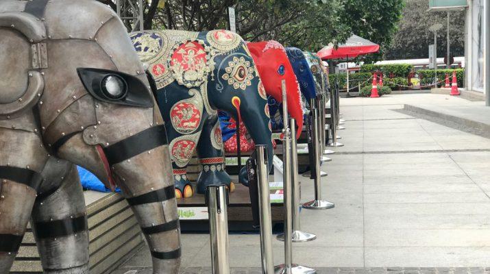 Elephant Parade at Oberoi Mall