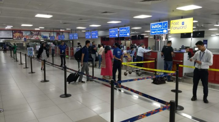 IndiGo transitions one third of domestic flights in Delhis Terminal 2 without a hitch - Check-in counters