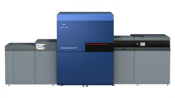 Konica Minolta To Deploy Indias First AccurioJet KM-1 UV Inkjet Press