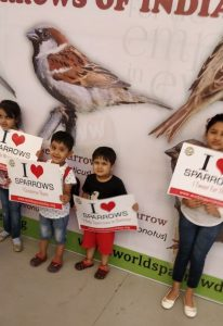 Oberoi Mall Celebrated World Sparrow Day in association with Nature Forever Society