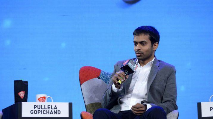 Pullela Gopichand at India Today Conclave 2018