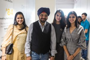 Sutinder Singh and Meghna Singh with Family - Aptronix Launches its largest service centre in Hyderabad