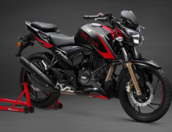 TVS Motor Company launches new range of TVS Apache RTR 200 4V