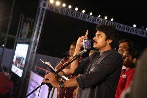 Telugu Megastar Shri Pawan Kalyan celebrates the Formation Day of Janasena