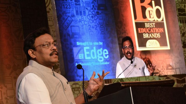 Vinod Tawde - Prominent Educational brands acclaimed at The Economic Times Best Education Brands 2018