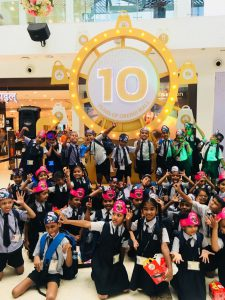 Akanksha foundation children at Oberoi Mall - 4