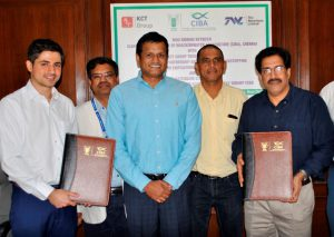 CIBA inks strategic alliance with Waterbase 2