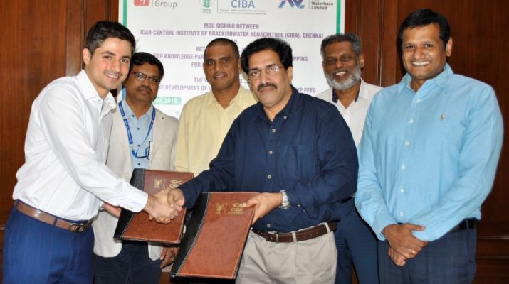 CIBA inks strategic alliance with Waterbase